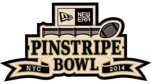 Logo Pinstripe Bowl