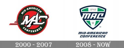 Mid-American Conference Logo history