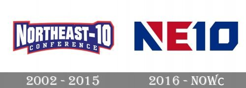 Northeast-10 Conference Logo history