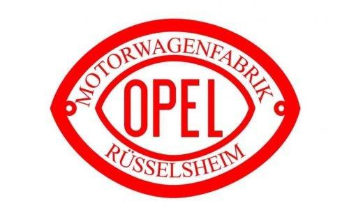 Opel Logo 1902