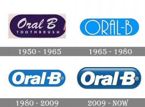 Oral B Logo history