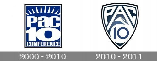 Pacific-10 Conference Logo history