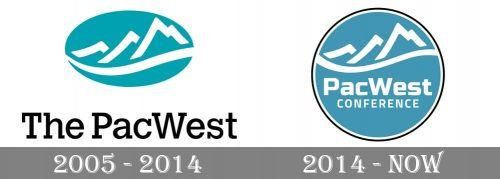 Pacific West Conference Logo-history