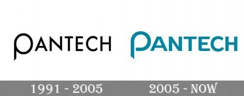 Pantech Logo history