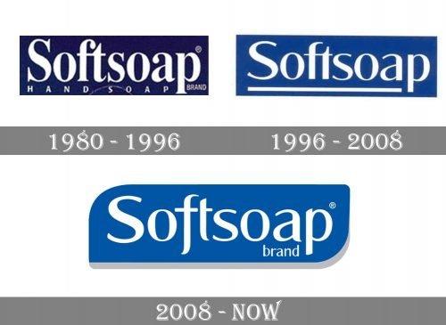 Softsoap Logo history