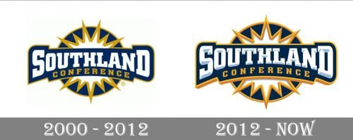 Southland Conference Logo-history