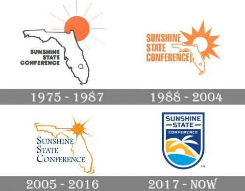 Sunshine State Conference Logo-history