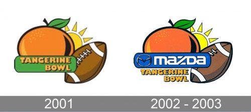 Tangerine Bowl Logo history