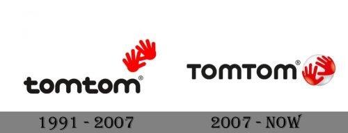 TomTom Logo history