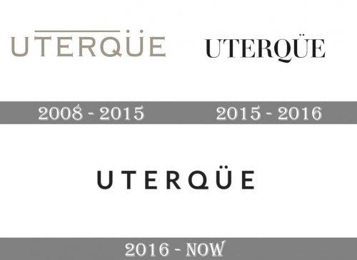 Uterqüe Logo history