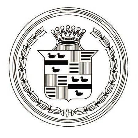 Cadillac logo 1920