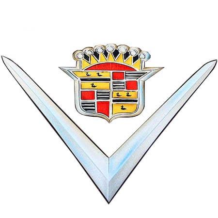 Cadillac logo 1948