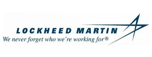 Lockheed Martin logo We never forget who we're working for