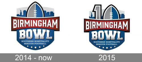 Birmingham Bowl Logo history
