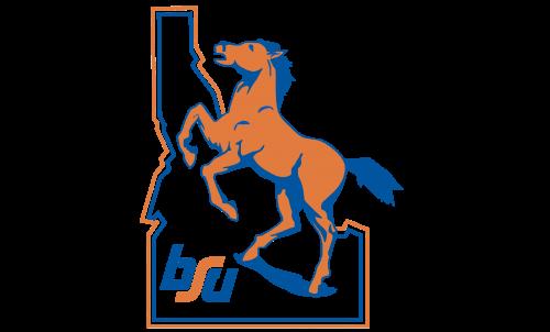 Boise State Broncos Logo-1974