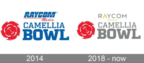 Camellia Bowl Logo history