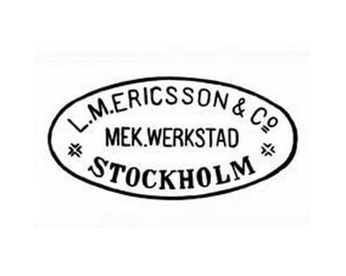Ericsson Logo 1876