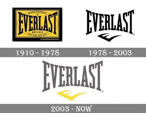 Everlast Logo history