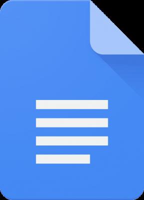 Google Docs Logo 2014