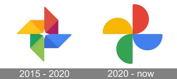 Google Photos Logo history