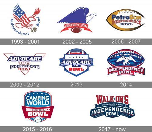 Independence Bowl Logo history