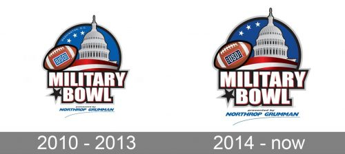 Military Bowl Logo history