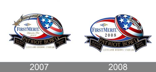 Patriot Bowl Logo history