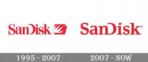SanDisk Logo history