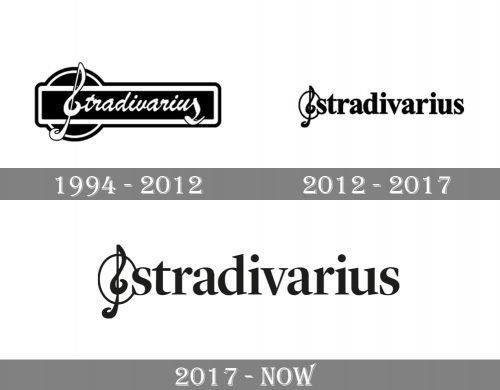 Stradivarius Logo history