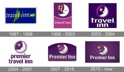 Premier Inn Logo history