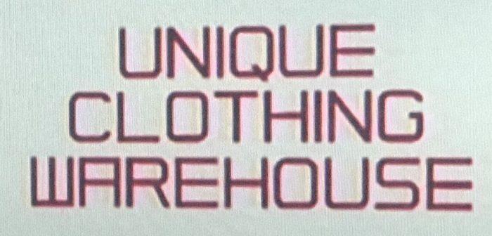Uniqlo Logo 1984