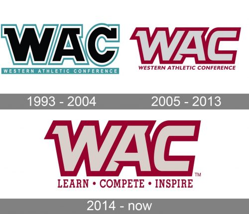 Western Athletic Conference Logo history