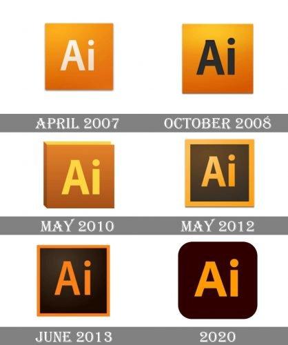illustrator Logo history