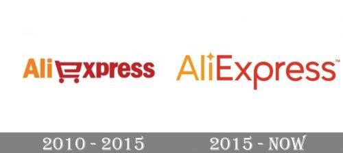 Aliexpress Logo history