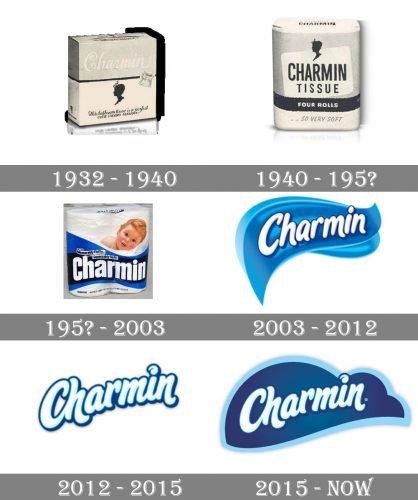 Charmin Logo history