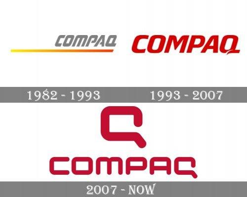 Compaq Logo history