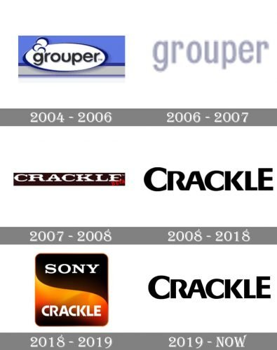 Crackle Logo history