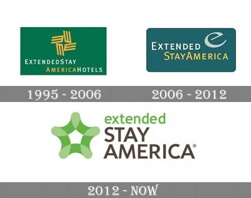 Extended Stay America Logo history