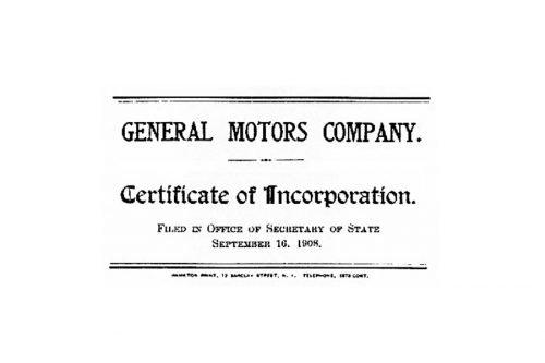 GM Logo 1908
