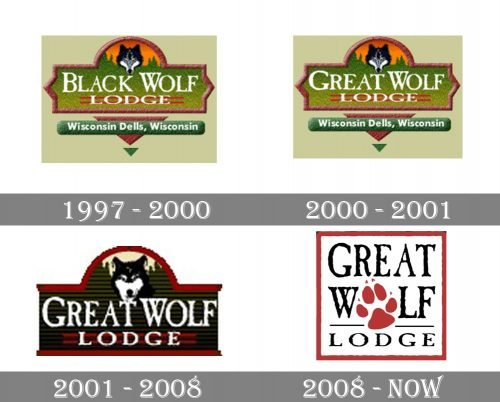 Great Wolf Lodge Logo history
