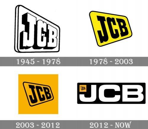 JCB Logo history