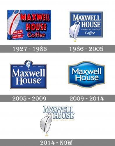 Maxwell House Logo history