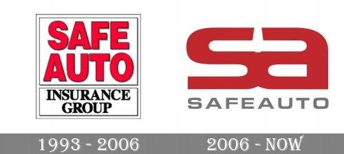 Safe Auto Logo history