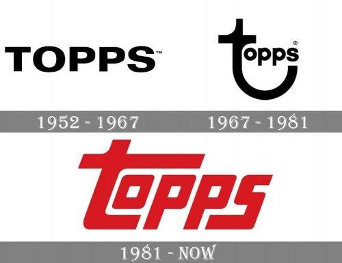 Topps Logo history