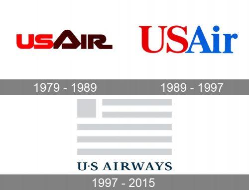 US Airways Logo history