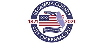 Escambia County presents the 200th anniversary logo