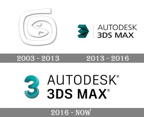 3ds Max Logo history