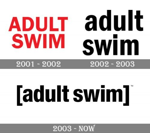 Adult Swim Logo history