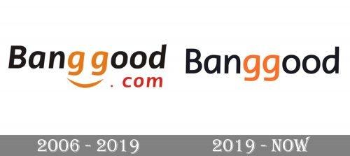 Banggood Logo history