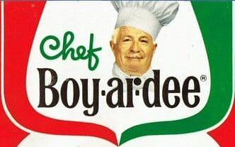 Chef Boyardee Logo 1965